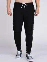 Polyester/Nylon Black Mens Jogger