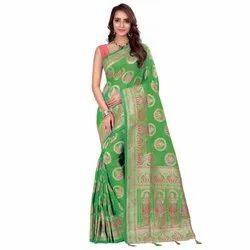 1537 Jacquard Silk Saree