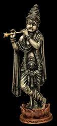 Krishna On Lotus Base