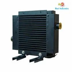 Finned Type Heat Exchanger, For Hydraulic and Industrial Process, 12 months