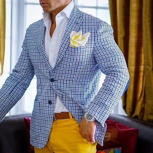 Woolen Wedding Wear Mens Blazer, Rs 1350 /piece, Madhuri Sarees | ID ...