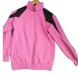 Pink Poloberry Mens Pullover Jacket