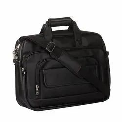 Spacious Classic Retro Laptop Bag 15.6, Adjustable Strap and 6 Compartments