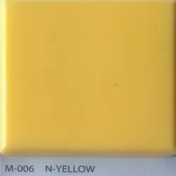 N Yellow Acrylic Solid Surface