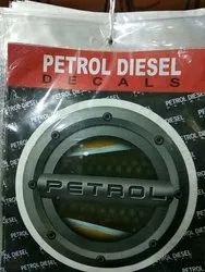 Petrol Vinyl Sticker