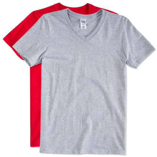 d9b5514a843 Men Cotton Plain V Neck T Shirt