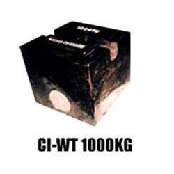 1000 Kg Cast Iron Weights