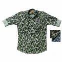 Xl And Xxl Cotton Mens Fancy Printed Shirt