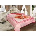 Designer Double Bed Mink Blanket