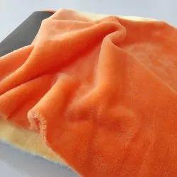 Plain Coral Fleece Fabric