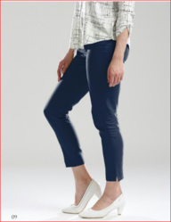 Women Blue Casual Pant