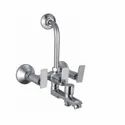 Blues Adore 3 In 1 L Bend Wall Mixer For Bathroom Fitting, Packaging Type: Box