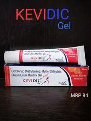 Diclofenac Diethylamine,Methyl Salicylate, Oleum lini & Menthol gel