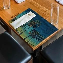 Coconut Tree Print Table Placemat