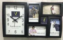 Custom Decorative Plastic Frame Clock