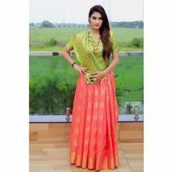 Designer Soft Banarasi Silk Patola Saree
