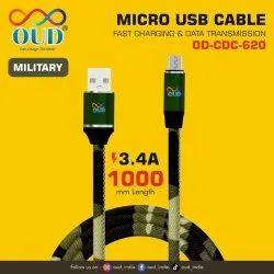 Dark Green OUD OD CDC 620 Micro USB Cable