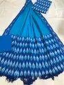 Multicolor Cotton Fabric Ikkat Handloom Dress Material, Gsm: 50-100 Gsm