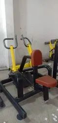 Seated rowing hammer machine
