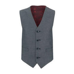 Large And XL Cotton Mens Designer Waistcoat