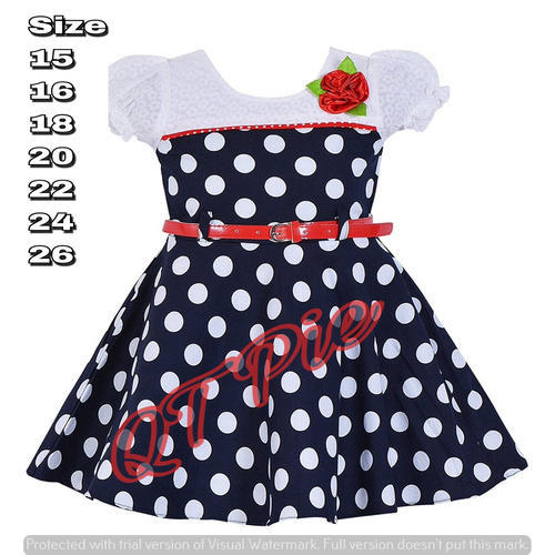 49ccb3315799 QT Pie Baby Girls Cotton Frock