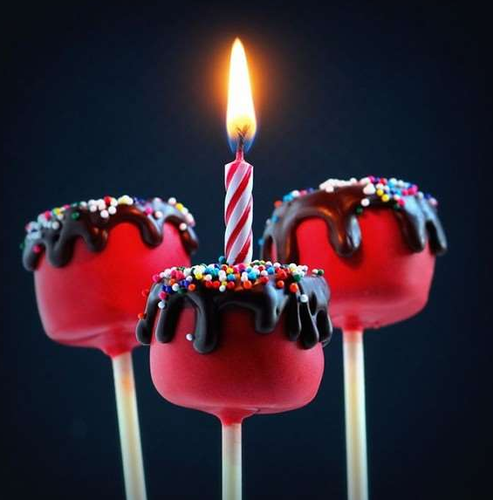 Happy Birthday Wishes Candles Pack Of 15
