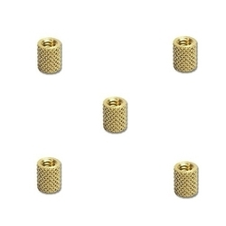 Brass Left Right Knurled Inserts