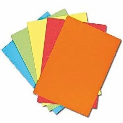 Plain Lakshmi Enterprises Color Printing Paper, GSM: Less than 80,80 - 120