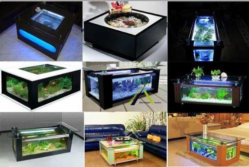 Aquarium Coffee Table.Multi Color Coffee Table Aquarium Aquarium Design India Id