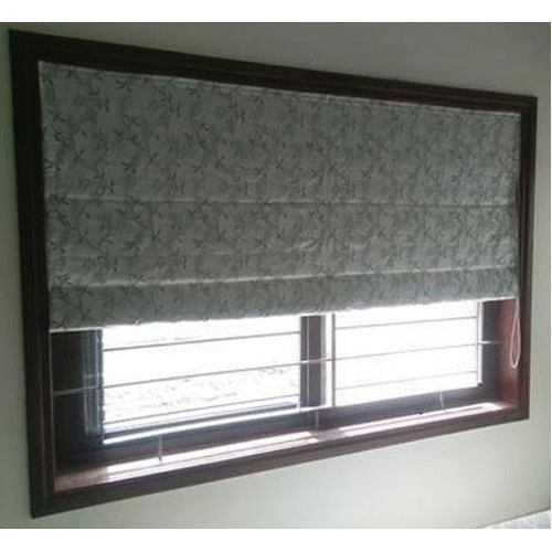 Canvas Roll Up Curtain Blind For Window