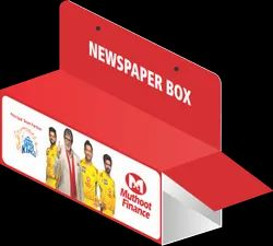 Promotional Newspaper Box, For Brand Promotion