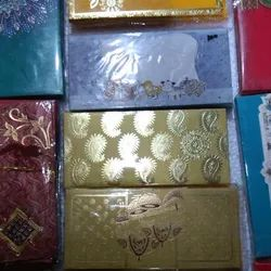 Golden Handmade Fancy Shagun Envelopes