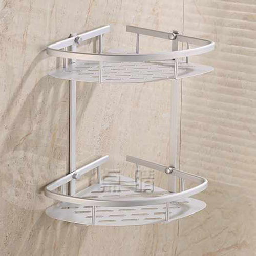 Silver Bathroom Shampoo Rack
