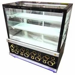 Flat Glass Sweet Display Counter