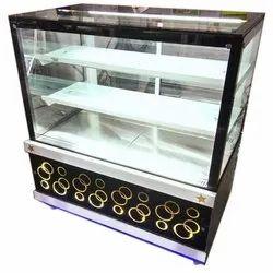 Flat Glass Sweet Display Counter