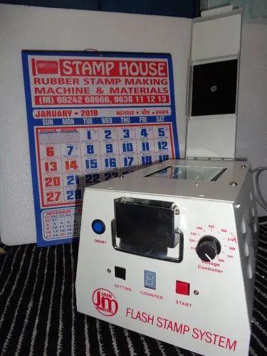 PRE INK STAMP MAKING MACHINE