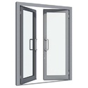 Hindalco And Jindal Rectangular Aluminium Window