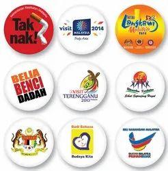 Tin Button Badges
