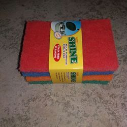 Four Colours Scrub Pad