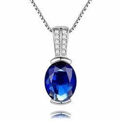 Natural Blue Sapphire Pendants