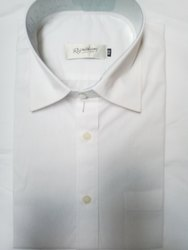 Yes smart Collar Neck Mens Cotton Formal Shirt, Size: 38