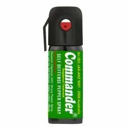 Commander Self Defense Pepper Spray, Green, MOQ 100