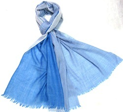 100% Wool Shaded Shawls