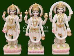 Marble Yum Kuber Varun Statue