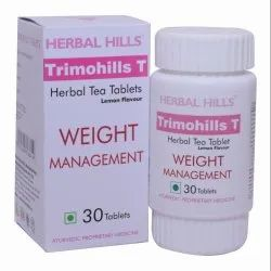 Herbal Tea Tablet - Trimohills T Tablet - Weight Loss Supplement