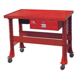 Stainless Steel Rectangular SS Work Tables, For Industrial