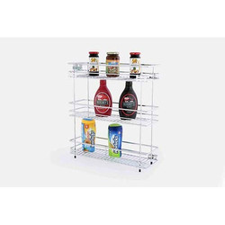 Silver Three Shelf Pullout