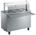 Bain Marie With Tray Slide (hot Cold)