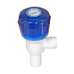PP Plastic Angle Valve, Size: 1 To 2 Inch (thread Size), Packaging Type: Corrugated Box