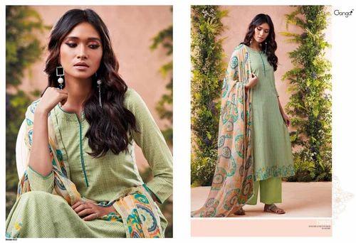 de39846a59 Ganga Festival Lawn Cotton Suits at Rs 1395 /piece | New Textile ...